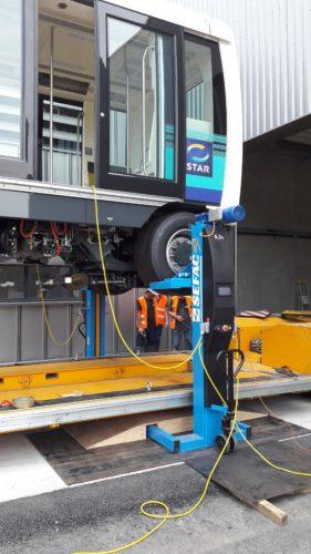 Siemens Mobility_dechargement rame CityVal à Rennes