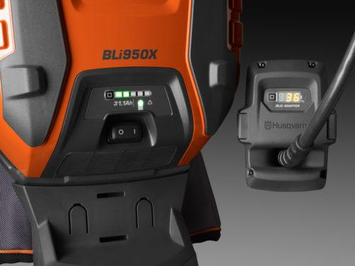 Husqvarna – Batterie à dos Bli950X