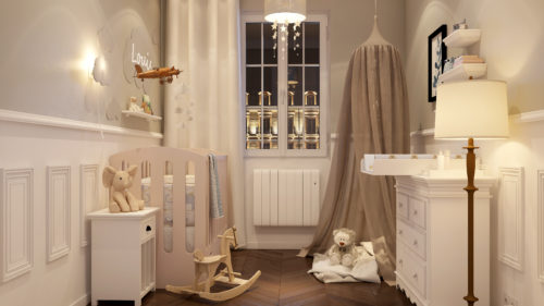 saint-gobain-fr - chambre bebe style classique - credit photo Saint-Gobain-jpg