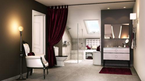 Envie de Salle de Bain - Style neoclassique-jpg