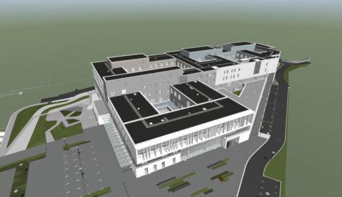 Siemens BTContrat hopital de NantesVue exterieure-jpg