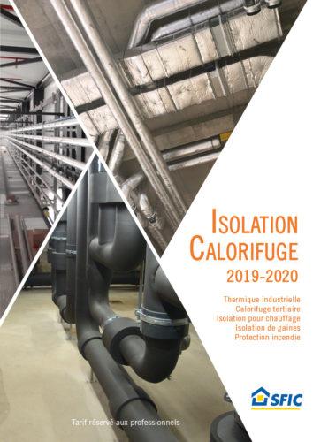 SFIC – Catalogue Isolation Calorifuge 2019-jpg