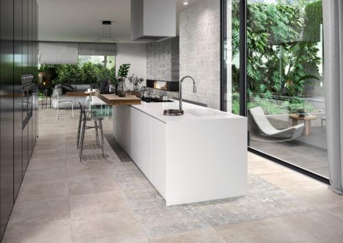 DECOCERAM 2020  Medley Amb Cucina concrete grey 30×60 decoro ivory 30×60 mosaico 30×30 grey-jpg