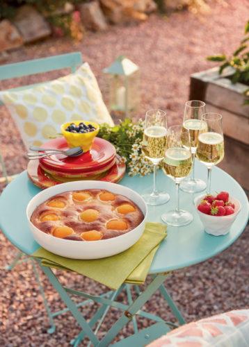 LUMINARC LB ETE 2020 Plat a tarte Smart Cuisine Fltes Vinetis ambiance terrasse -jpg