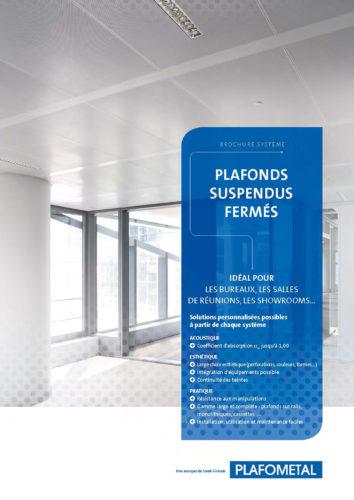 PlafometalBrochure SystemePlafonds suspendus fermes-jpg