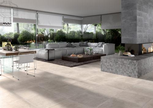 DECOCERAM Ambiance living concrete grey 30×60 mosaico 30×30-jpg
