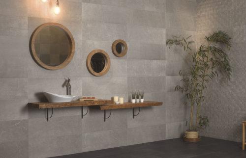 Salle de bains association mat  brillant-jpg