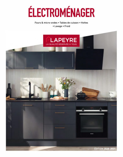 LAPEYRE Catalogue electromenager couverture-jpg