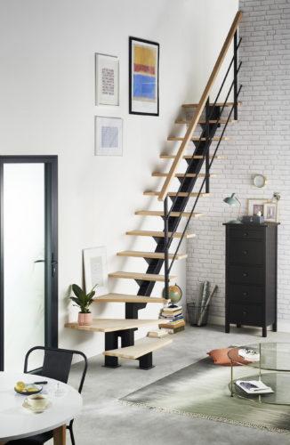 201823387 LAPEYRE Escalier Studio quart tournant bas hetre brut-jpg