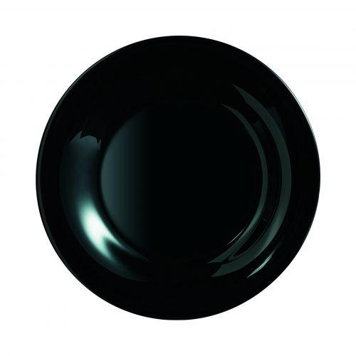 V12 LUMINARC – Assiette Vidiris noir N116004-jpg
