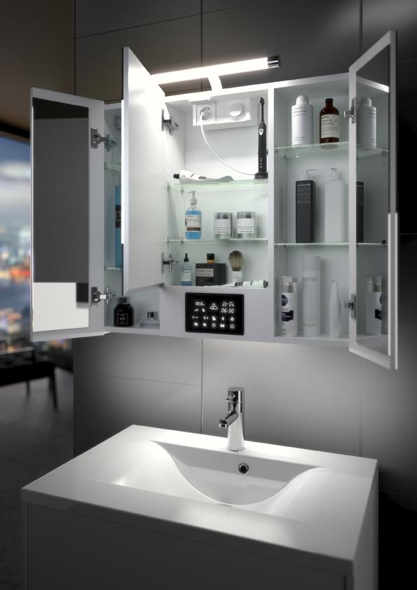 OptyQuand l\'armoire de toilette devient intelligente ! | CLC ...