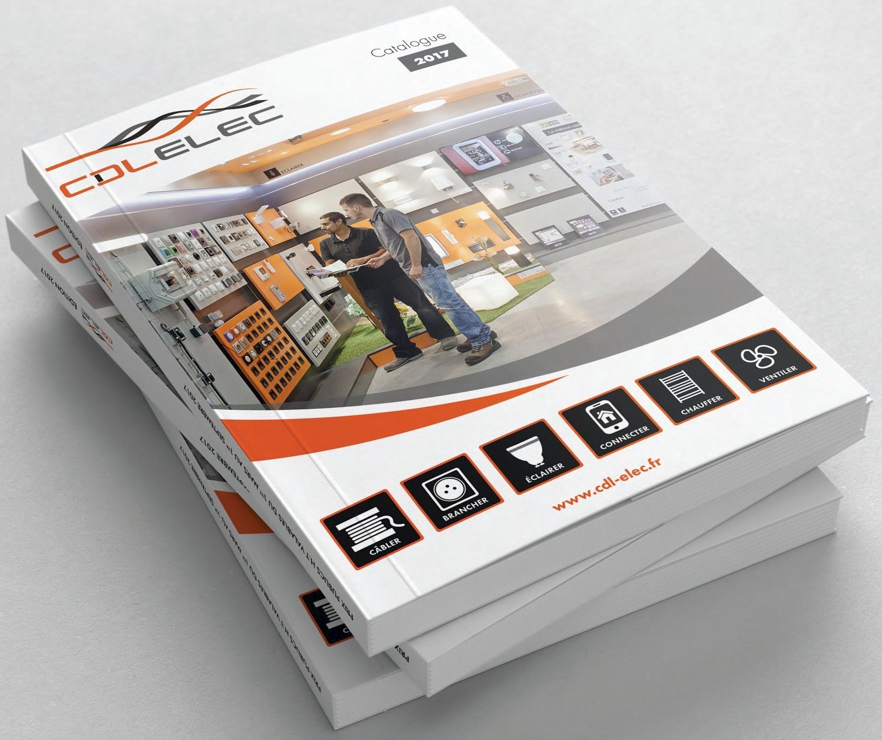 un premier catalogue pour cdl elec clc communications. Black Bedroom Furniture Sets. Home Design Ideas