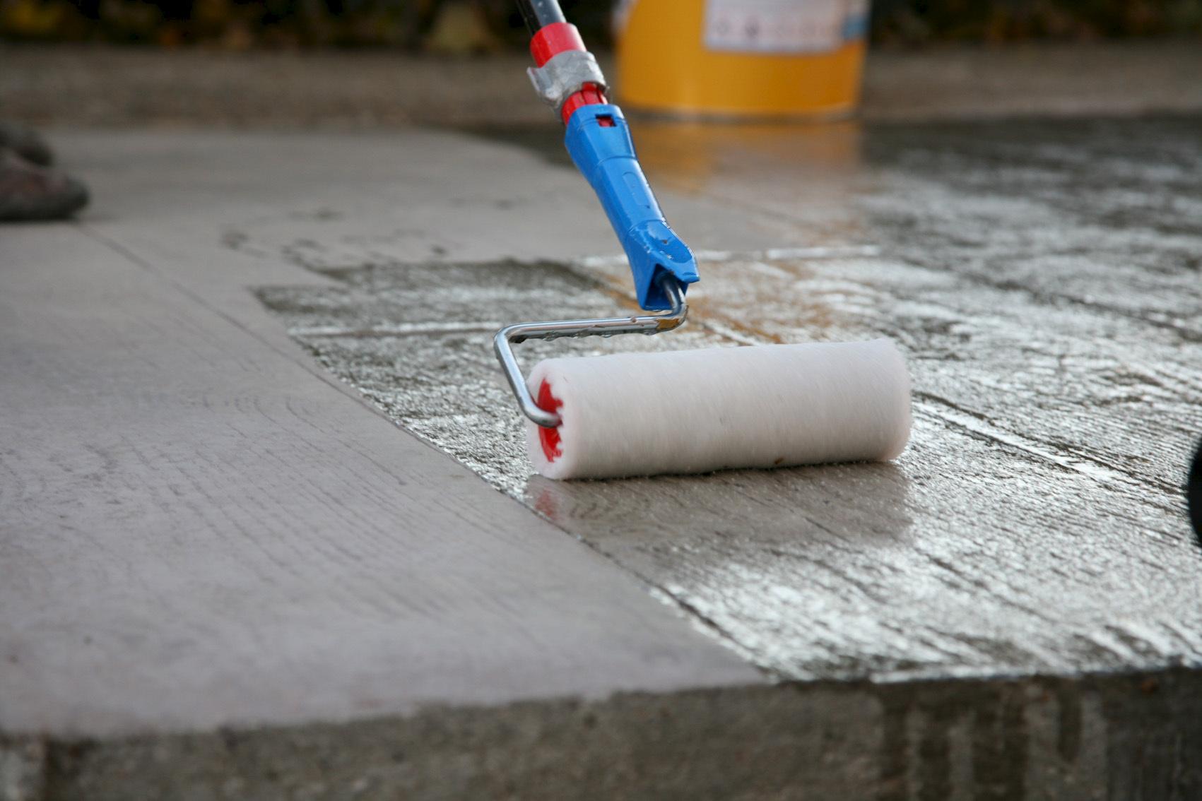 Protection beton brut
