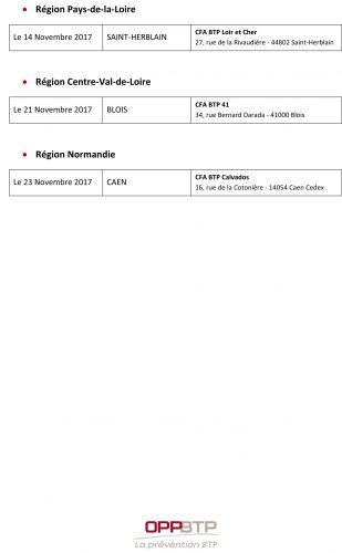 Rencontres regionales de la prevention - Liste detaillee des evenements page 3sur3-jpg