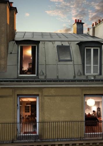 RHEINZINKskygreyzoom toiture Haussmannienne-jpg