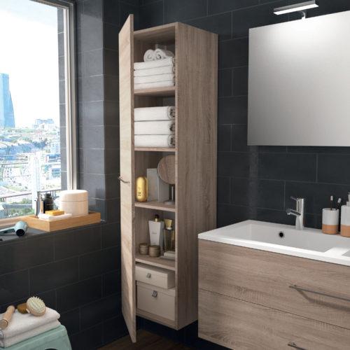 ALLIBERT meuble-chene-fonce-120cm-2t-verone-zoom-colonne-hd-jpg