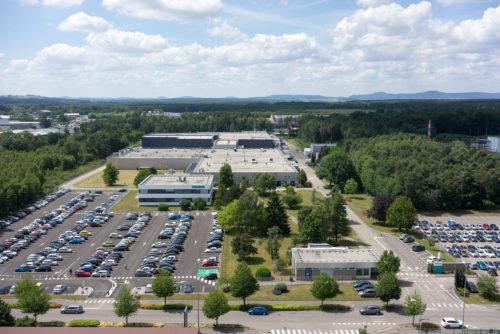 Siemens DF PD_usine Haguenau vue aerienne