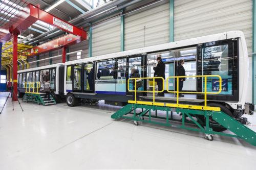 Siemens Mobility_CityVal de Rennes en usine