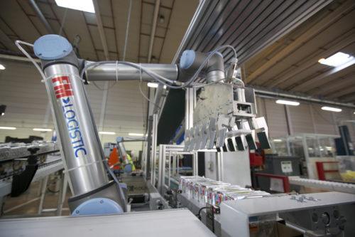 FM Logistic - Bras robotisé à Fauverney