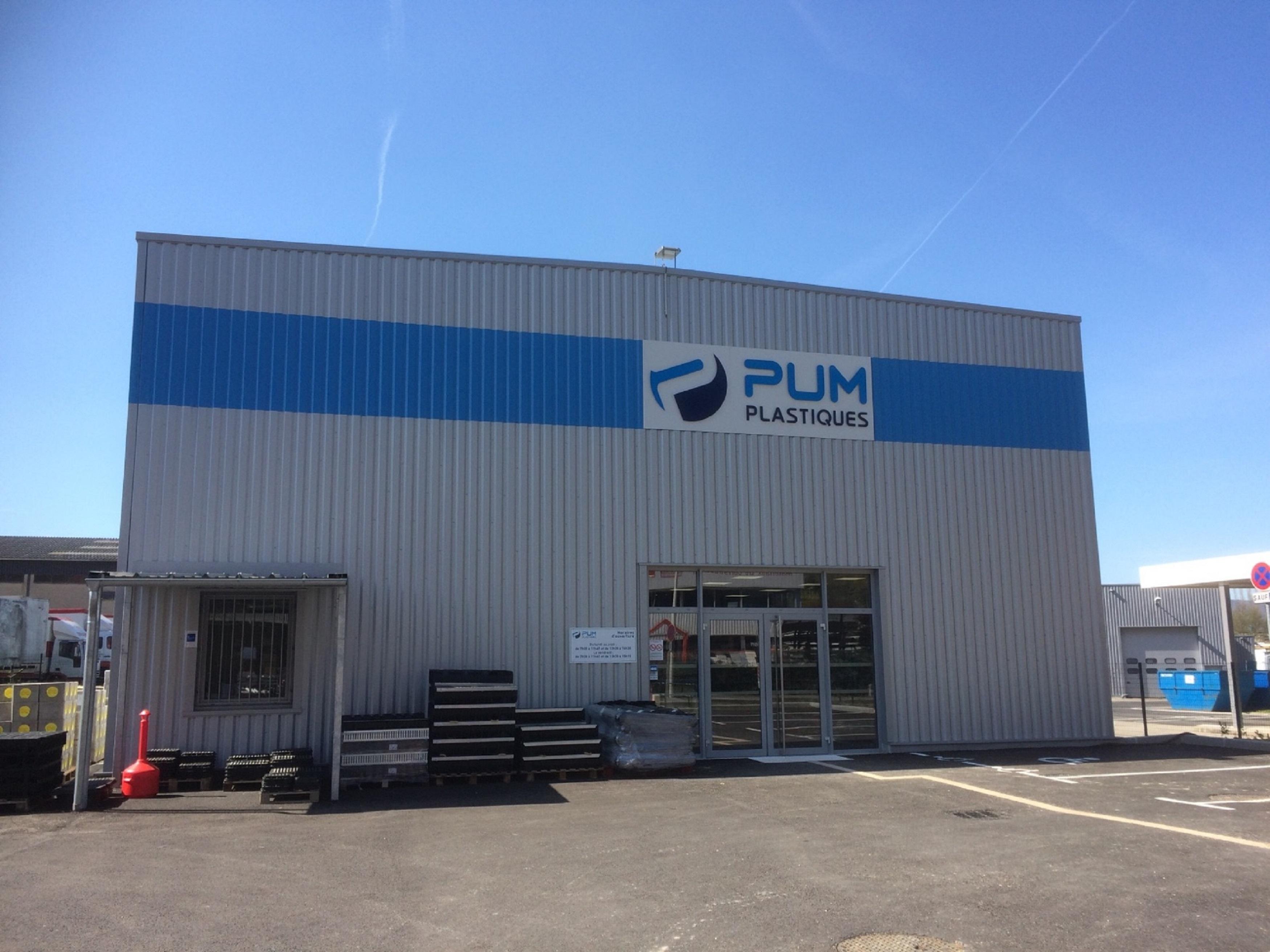 PUM Plastiques - Point de vente Annecy