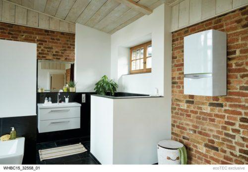 Chaudiere ecoTEC dans salle de bains – Saunier Duval – Vaillant – Reproduction interdite-jpg
