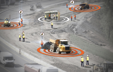 Dispositif intelligent pour prevenir les collisions engin-pieton-jpg