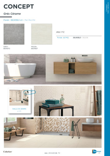 Decoceram – catalogue carrelage et decoration 2019 Avalon-jpg