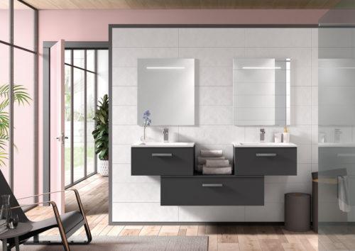 Allibert – meuble Neomix -graphite-brillant-2x60cm-bloc-100cm-1t-poignee3-neomix-jpg