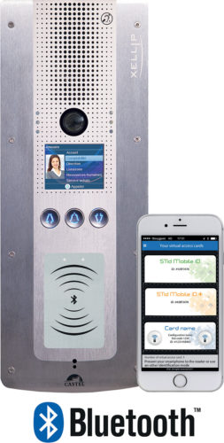 CASTEL-Interphone IP XELLIP avec lecteur Bluetooth integre-jpg