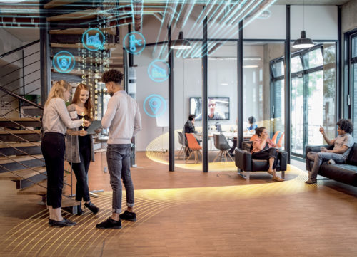 Siemens SI visuel Smart Office solution espace bureau-jpg